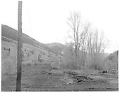Looking south at Rico yard and remains.<br /> RGS  Rico, CO  Taken by Payne, Andy M. - 5/20/1967