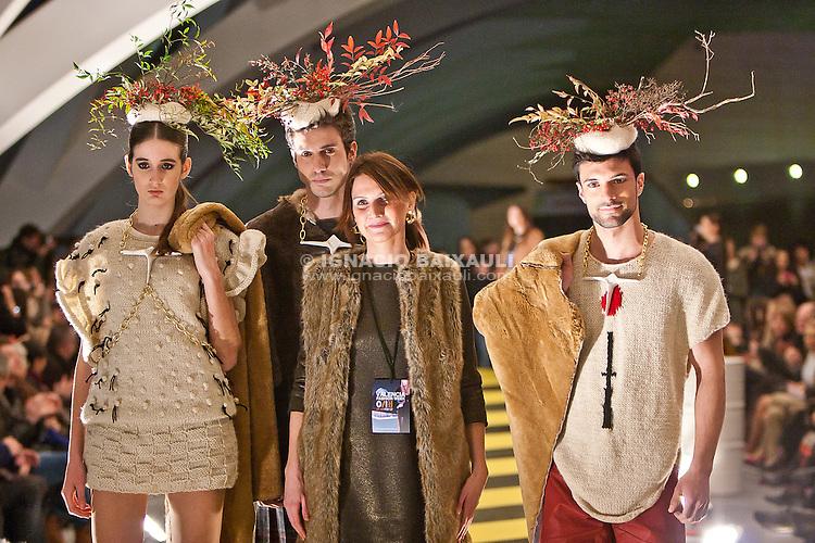 Desfile Offkaos - Cristina Granados -  Pasarela Valencia Fashion Week 2012