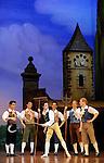 LA FILLE MAL GARDEE....Choregraphie : ASHTON Frederick..Compositeur : HEROLD Louis joseph Ferdinand..Compagnie : Ballet de l Opera National de Paris..Orchestre : Orchestre de l Opera National de Paris..Decor : LANCASTER Osbert..Lumiere : THOMSON George..Costumes : LANCASTER Osbert..Avec :..HEYMANN Mathias..HOUETTE Aurelien..MADIN Allister..BOTTO Mathieu..DEMOL Yvan..COUVEZ Adrien..VANTAGGIO Francesco..Lieu : Opera Garnier..Ville : Paris..Le : 26 06 2009..© Laurent PAILLIER / www.photosdedanse.com..All rights reserved