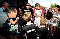 EMMEN - Opendag FC Emmen , Oude Meerdijk, seizoen 2018-2019, 15-07-2018,  FC Emmen speler Cas Peters