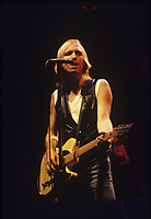 Tom Petty and the Heartbreakers performing on the Rock and Roll Caravan Tour at Poplar Creek in Hoffman Estates, Illinois.<br /> June 20,1987<br /> CAP/MPI/GA<br /> ©GA/MPI/Capital Pictures
