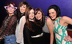 Diane Healy, AnneMarie Brosnan, Marguerite O'Brien, Karen Healy and Tara McCarthy   at the 'Take Me Out'  theme night at the Valentines  Ultimate Singles Party in The Killarney Grand Hotel on Monday night.  Picture: Eamonn Keogh (MacMonagle, Killarney)