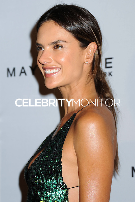 NEW YORK CITY, NY, USA - SEPTEMBER 05: Alessandra Ambrosio arrives at the 2nd Annual Fashion Media Awards held at the Park Hyatt on September 5, 2014 in New York City, New York, United States. (Photo by Celebrity Monitor)