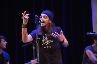 WASHINGTON, D.C. - JANUARY 17: Salvko Bosnjak of Gypsy Punk band Bad Buka performs at The John F. Kennedy Center for the Performing Arts Millennium Stage on January 17, 2013 in Washington, DC.  © MPI10/MediaPunch Inc