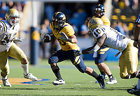 September 4, 2010:  Isi Sofele of California rushes through the line of scrimmage during a game against UCLA at Memorial Stadium in Berkeley, California.   California defeated UCLA 35-7