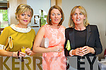 Enjoying the Ladies Lunch & Fashion Afternoon on Sunday last held in Ballyroe Heights Hotel in aid of the  Recovery Haven Tralee were l-r: Ina O'Leary Abbeydorney with Kay Sheehan and Pauline Gleasure (Kilflynn).
