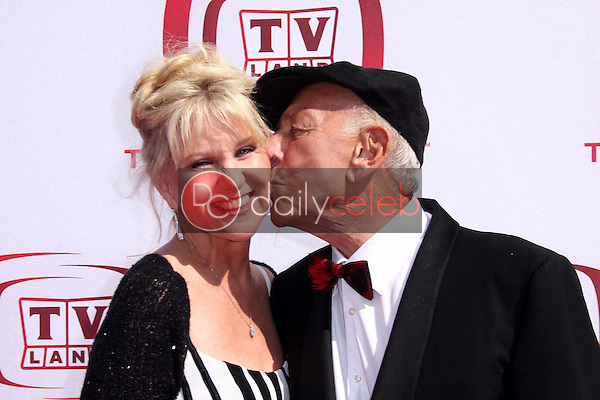 Peggy Crosby and Jack Klugman<br />