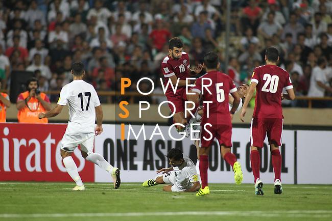 IR Iran vs Qatar during their 2018 FIFA World Cup Russia Final Qualification Round Group A match at Azadi Stadium on 01 September 2016, in Tehran, Iran. Photo by Adnan Hajj / Lagardere Sports