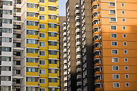Apartment blocks in Beijing, China