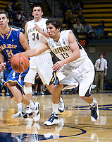 Raffi Chalian of California in action during the game against SJSU at Haas Pavilion in Berkeley, California on December 7th, 2011.   California defeated San Jose State, 81-62.