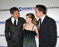 "LOS ANGELES - MAR 28:  Jason Clarke, Kate Mara, Ed Helms at the ""Chappaquiddick"" Premiere at Samuel Goldwyn Theater on March 28, 2018 in Beverly Hills, CA"