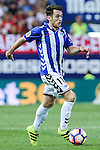 Deportivo Alaves's Ibai Gomez during the match of La Liga Santander between Atletico de Madrid and Deportivo Alaves at Vicente Calderon Stadium. August 21, 2016. (ALTERPHOTOS/Rodrigo Jimenez)
