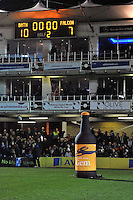 A general view of the Bath Ales half-time kicking challenge. Aviva Premiership match, between Bath Rugby and Newcastle Falcons on November 15, 2014 at the Recreation Ground in Bath, England. Photo by: Patrick Khachfe / Onside Images