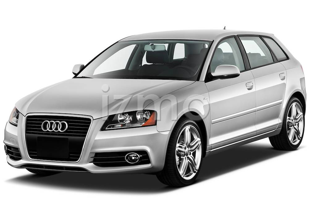 Front three quarter view of a 2003 - 2012 Audi A3 Premium Sportback Hatchback.