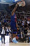 Turkish Airlines Euroleague 2017/2018.<br /> Regular Season - Round 8.<br /> FC Barcelona Lassa vs Valencia Basket: 89-71.<br /> Kevin Seraphin.