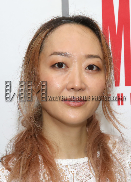 Sue Jean Kim attends 'The End Of Longing' cast photocall at Roundabout Rehearsal Studio on April 20, 2017 in New York City.