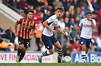 Preston North End's Tom Bayliss<br /> <br /> Photographer Dave Howarth/CameraSport<br /> <br /> The Carabao Cup First Round - Bradford City v Preston North End - Tuesday 13th August 2019 - Valley Parade - Bradford<br />  <br /> World Copyright © 2019 CameraSport. All rights reserved. 43 Linden Ave. Countesthorpe. Leicester. England. LE8 5PG - Tel: +44 (0) 116 277 4147 - admin@camerasport.com - www.camerasport.com