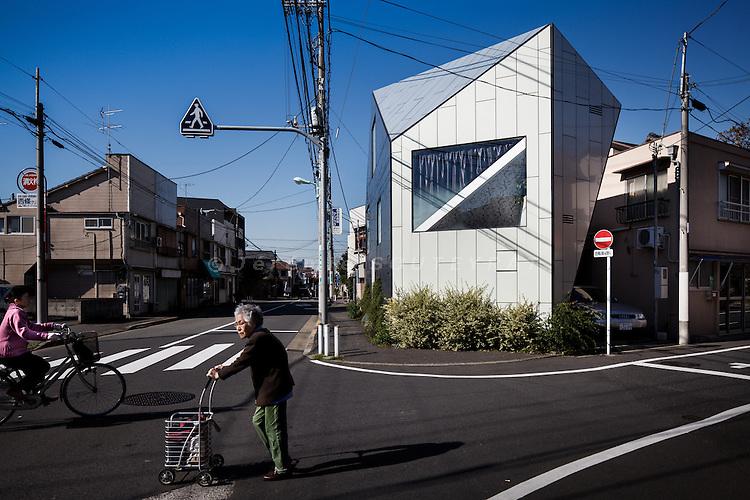 Tokyo, November 10 2010 - A house by Hiroyuki Fukuyama architects