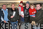 Enjoying the day at the Ballyheigue Race Meeting on Wednesday 27th December were Tim Kenny, John Kenny, Colin Kenny, Sean Kenny, Madeline Simpson and Scott Simpson, all from Ballyheigue..