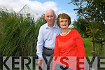 Peggy O'Connor Garcia home after 52 years here with brother Patrick O'Connor in Castlegregory on Friday