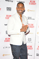 Richard Blackwood at the &quot;Welcome To Curiosity&quot; UK film premiere, Prince Charles Cinema, Leicester Place, London, England, UK, on Monday 04 June 2018.<br /> CAP/CAN<br /> &copy;CAN/Capital Pictures