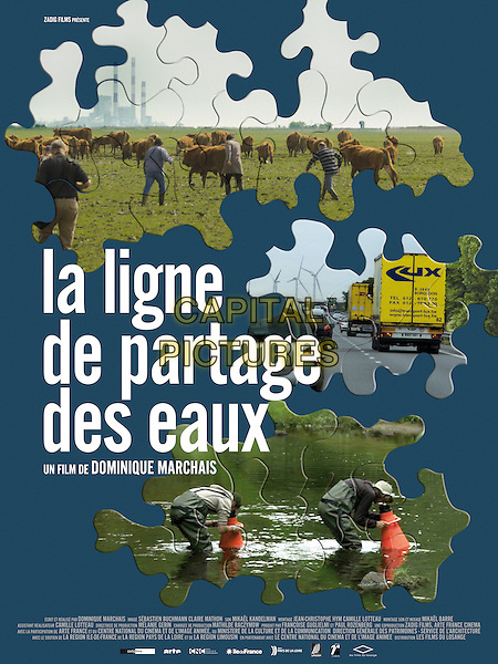 POSTER ART<br /> in La ligne de partage des eaux (2013) <br /> *Filmstill - Editorial Use Only*<br /> FSN-D<br /> Image supplied by FilmStills.net