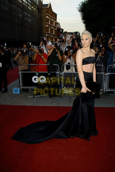 Jessie J (Jessica Ellen Cornish)<br /> GQ Men of the Year Awards 2013 at the Royal Opera House, London, England.<br /> September 3rd, 2013<br /> full length skirt belly stomach midriff clutch bag black strapless bandeau top cropped <br /> CAP/CJ<br /> &copy;Chris Joseph/Capital Pictures