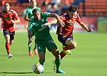 Con un único tanto de Juan Fernando Caicedo, Independiente Medellín, sin convencer a su hinchada, venció 1 – 0 a Equidad en compromiso de la quinta fecha que se jugó en el estadio Atanasio Girardot de la capital antioqueña.