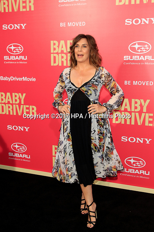 """LOS ANGELES - JUN 14:  Allison King at the """"Baby Driver"""" Premiere at the The Theater at Ace Hotel on June 14, 2017 in Los Angeles, CA"""