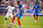 June 13th 2017, Stade de France, Paris, France; International football friendly, France versus England;  KYLIAN MBAPPE (fra) covered by Raheem Sterling (eng)