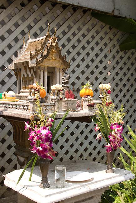 Spirit house. Bangkok, Thailand
