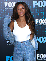 www.acepixs.com<br /> <br /> May 15 2017, New York City<br /> <br /> Serayah McNeill arriving at the 2017 FOX Upfront at Wollman Rink, Central Park on May 15, 2017 in New York City.<br /> <br /> By Line: Nancy Rivera/ACE Pictures<br /> <br /> <br /> ACE Pictures Inc<br /> Tel: 6467670430<br /> Email: info@acepixs.com<br /> www.acepixs.com
