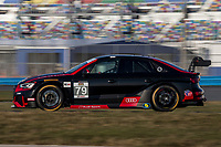 79, Audi, Audi RS3 LMS TCR, TCR, Andrew Davis, IMSA Continental Tire SportsCar Challenge<br /> December Test<br /> Daytona International Speedway<br /> Daytona Beach, FL USA<br /> Wednesday, 06 December 2017<br /> <br /> World Copyright: Brian Cleary<br /> LAT Images