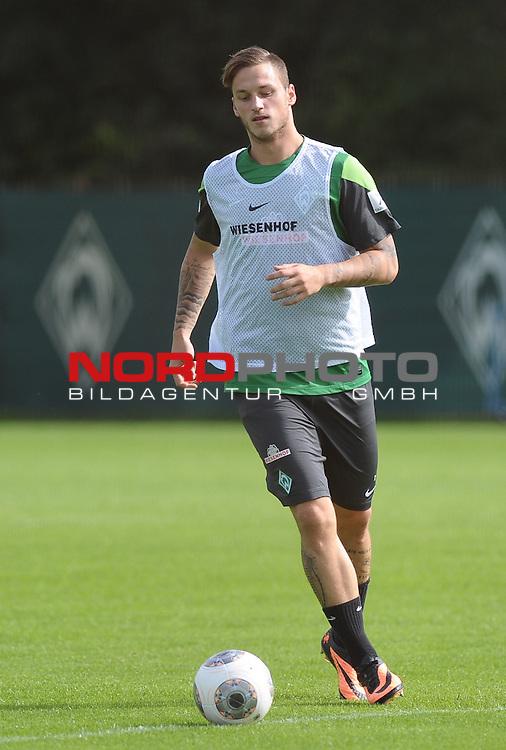 20.08.2013, Trainingsgelaende, Bremen, GER, 1.FBL, Training Werder Bremen, im Bild Marko Arnautovic (Bremen #7)<br /> <br /> Foto &copy; nph / Frisch