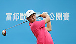 TAIPEI, TAIWAN - NOVEMBER 19:  Lorens Chan of USA tees off on the 1st hole during day two of the Fubon Senior Open at Miramar Golf & Country Club on November 19, 2011 in Taipei, Taiwan.  Photo by Victor Fraile / The Power of Sport Images