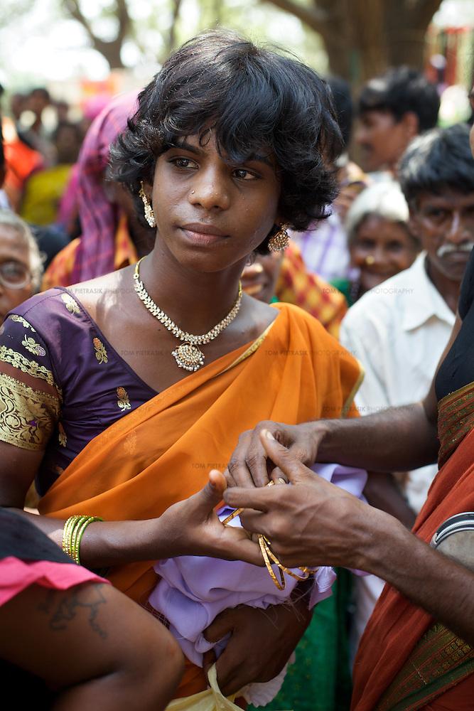 Transexual, Transgenders And Aravani Gay Men In Tamil Nadu, India  Tom Pietrasik -2395