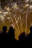 Queen's Park Gardens annual firework display, organised by Queens Park Neighbourhood Forum