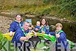 Lyreacrompane fourth Kerry Scout Group are urgently looking for leaders for their scouts age group 12 to 16 year olds or they can't offer their service locally. Pictured were: Trish Lenihan, Kieran Keane, Denise Fitzgerald and Joan Murphy.