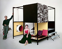 Ken Isaacs, Living Cube, 1954