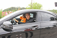 New AS Roma player Lorenzo Pellegini arrives at Trigoria sport center <br /> Campionato Italiano Calcio Serie A 2017/2018<br /> Roma 30-06-2017 <br /> Foto Gino Mancini/Insidefoto