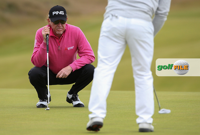 Miguel Angel Jimenez (ESP) during Round One of the 2016 Aberdeen Asset Management Scottish Open, played at Castle Stuart Golf Club, Inverness, Scotland. 07/07/2016. Picture: David Lloyd | Golffile.<br /> <br /> All photos usage must carry mandatory copyright credit (&copy; Golffile | David Lloyd)