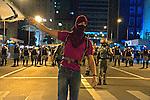 Manifestaçao Muda Brasil contra aumento da passagem do transporte publico. Movimento Passe Livre, MPL. Porto Alegre. Rio Grande do Sul. 2013. Foto de Juliana Lima.