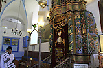 Israel, Upper Galilee, Ha'ari Synagogue in Safed