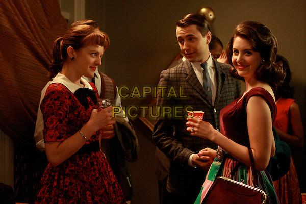 ELISABETH MOSS, VINCENT KARTHEISER, ALISON BRIE<br /> in Mad Men (Season 2)<br /> *Filmstill - Editorial Use Only*<br /> CAP/FB<br /> Image supplied by Capital Pictures