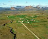 Möðrudalur séð til norðurs, Fljótsdalshérað áður Jökuldalshreppur / Modrudalur viewing north, Fljotsdalsherad former Jokuldalshreppur