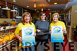 Launching ' Pan Cake Tuesday ', Feb 25 next at the Brogue Inn, Tralee, last Thursday Feb 13 in aid of Recovery Haven, Kerry, were L-R Kathleen Collins, Recovery Haven Ky, Fiona Kirby, Brogue Inn, Tralee and Maureen O'Brien, Recovery Haven, Ky.