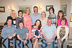 Mary Doherty, Lerrig (seated centre) had a class night celebrating her 50th birthday in the Oyster Tavern, the spa along with family and friends (seated) l-r: Michael Courtney, Cían, Mary and Neil Doherty with Ann Courtney. Back l-r: Nicola Fitzell, Mary O'Hara, Tess Meehan, Adrain Flynn, Anna Lane and Therese McQuinn.