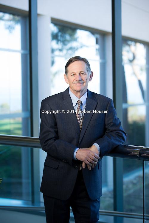 Portrait of Norman Schwartz - CEO - BioRad Laboratories