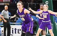 Albany defeats Siena 78-63 in a nonconference game for the Mayor's Cup on December 09, 2017 at the Times Union Center in Albany, New York.  (Bob Mayberger/Eclipse Sportswire)