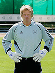 Fussball INTERNATIONAL EURO 2004 Nationalmannschaft ; DFB ; Deutschland, FOTOTERMIN    Oliver Kahn